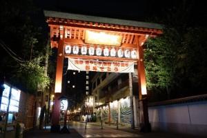 東京の夜桜_2